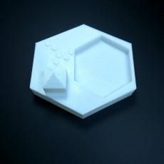 Picture of print of desktop zen garden
