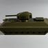 Tank model print image