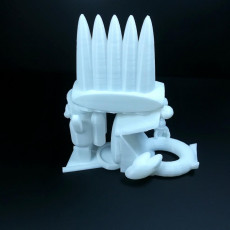 Picture of print of Floatie with legs and backrest and ice cream holder