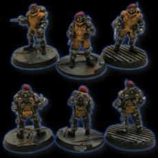 Sci fi miniature bases - Bundle