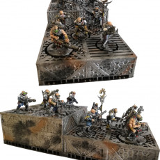 Picture of print of Sci fi miniature bases - Bundle