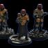 Sci fi miniature bases - Bundle image