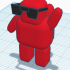 Cool Sunglasses Jetpack Man image