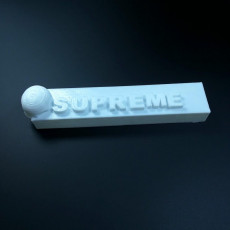 Picture of print of Supreme Brick