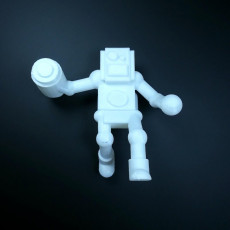 Picture of print of Robot Juggernaut Missile Launcher