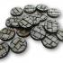 Paving stone miniature bases - Bundle image