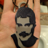 freddy mercury  keychain. Dual color with one extruder image