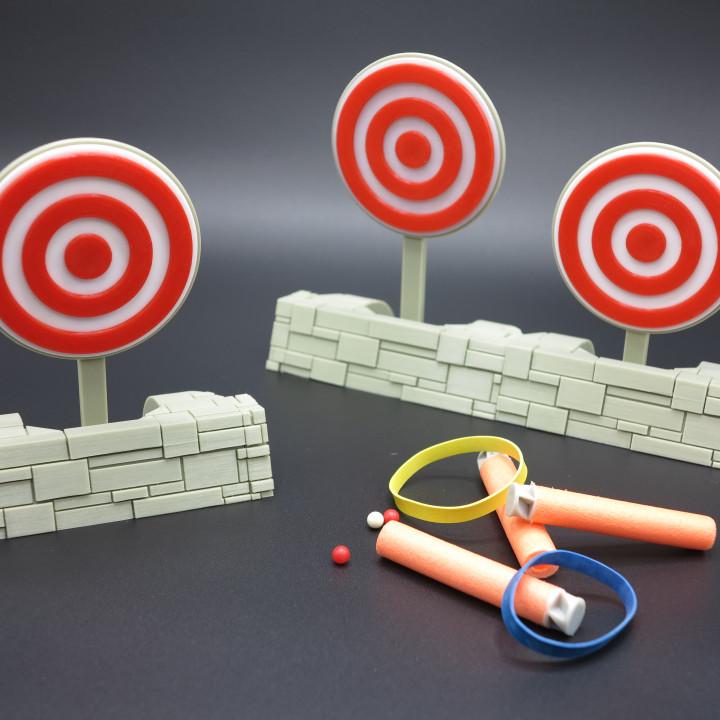 Knockdown Target