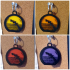 Octane Sunset Keychain - Rocket League image