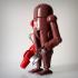 Retro-futuristic robots. image