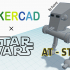 Simple AT-ST with Tinkercad image