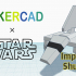 Simple Imperial Shuttle with Tinkercad image