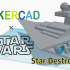 Simple Star Destroyer with Tinkercad image