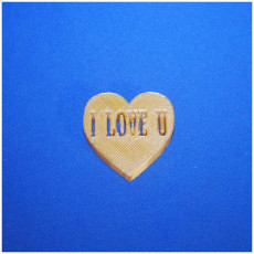 Picture of print of love heart