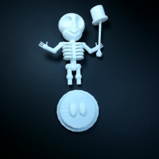 Picture of print of SkeleBoy #tinkercharacters