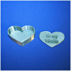 Picture of print of Valentine Heart Box