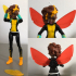 DC Super Hero Girl Bumblebee Flight Pack Replacement image