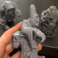 Picture of print of Witcher Crone 3