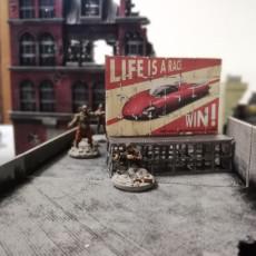 Post apocalyptic barricades - Bundle