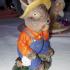 Hase mit Hut Rabbit with hat Scann image