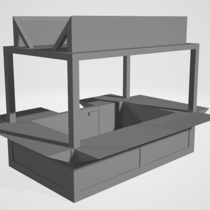 Kiosk, mobile home, office - Bundle