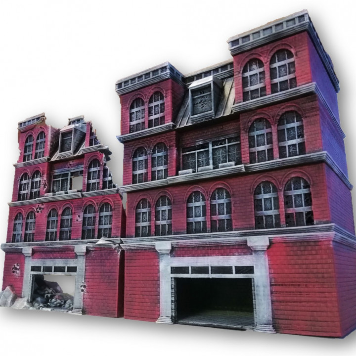 image about Printable Buildings referred to as Soho structures - Package deal