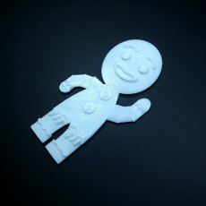 Picture of print of mr.gingerbread man