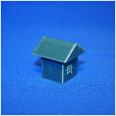 Picture of print of a house