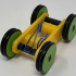 Designing a Simple 3D Printed Rubber Band Car Using Autodesk Fusion 360 image