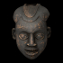 Wooden mask from Cameroon image