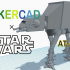 Simple AT-AT with Tinkercad image