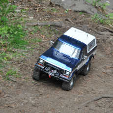 Picture of print of Traxxas TRX4 Ford Bronco Front and Rear Bumper Set