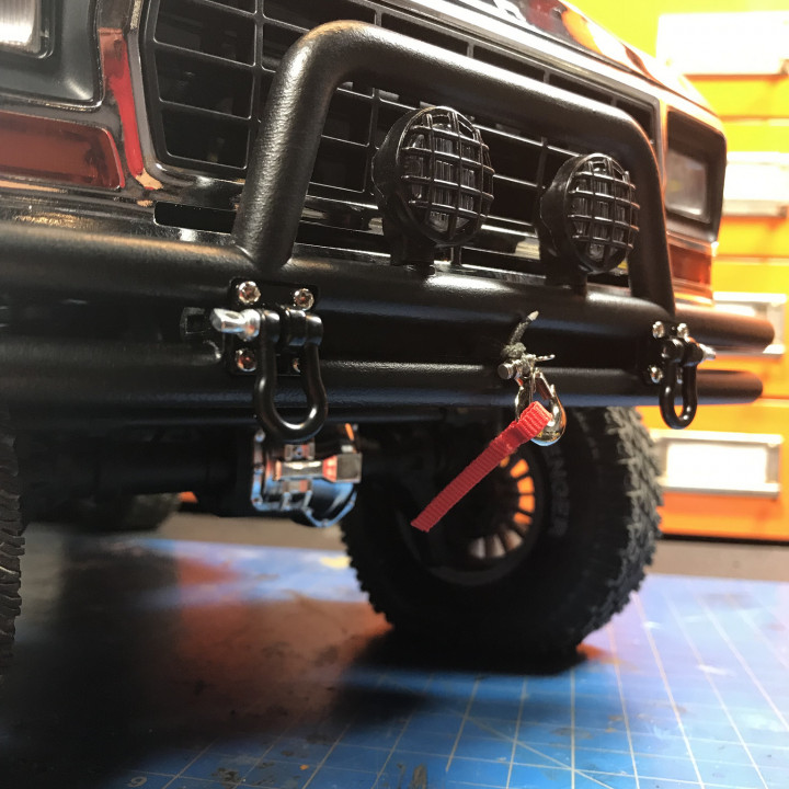 Traxxas TRX4 Ford Bronco Front and Rear Bumper Set