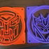 Autobot & Decepticon Logo 120mm Computer Fan Grills/Guards image