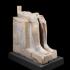 Lower part of seated statue of King Menkaura (Mycerinus) image