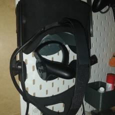 Oculus Rift holder for Ikea skadis (skådis)