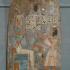 Anjh-auf-Mut Adoring a Seated Osiris image