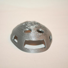 Picture of print of Water polo cap keychain