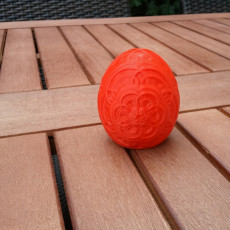 Picture of print of Floral Easter Egg