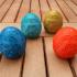 Floral Easter Egg print image