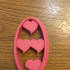 love cookie cutter image