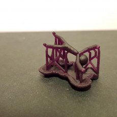Picture of print of StickMan pendant