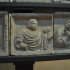 Reliefs with sacred figures and angels image