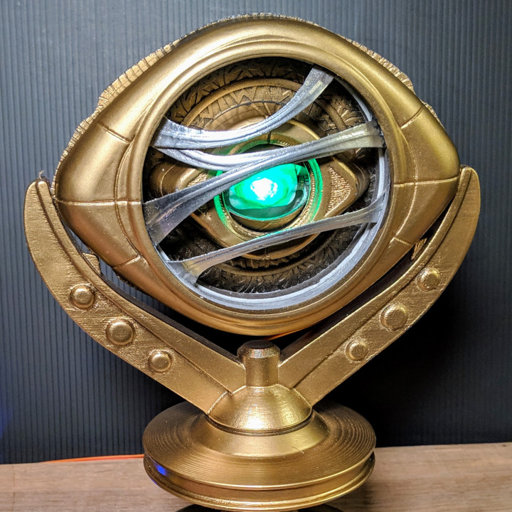 Fully Functional Eye Of Agamotto Cosplay Prop