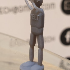 Picture of print of yeet man