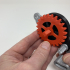 How I Designed a 3D Printed Windup Car Using Autodesk Fusion 360. image