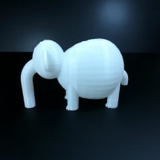 Picture of print of elefant