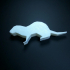 My first print - Low Poly Ferret image