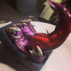 Picture of print of Mimic - Toothy Treasure Chest - Tabletop Miniature Dieser Druck wurde hochgeladen von Adam Barnsley