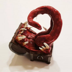 Picture of print of Mimic - Toothy Treasure Chest - Tabletop Miniature This print has been uploaded by Caitlin Sturdivant
